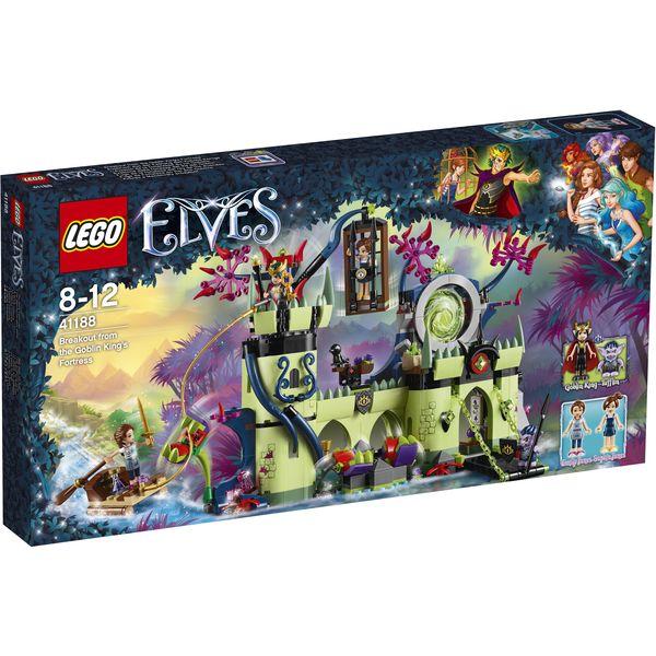 LEGO Elves 41188 - Ausbruch aus der Festung des Kobold-Königs