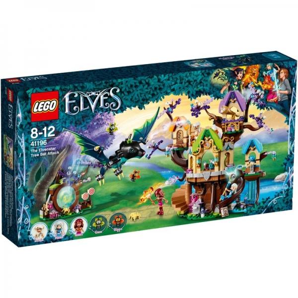 LEGO Elves 41196 - Fledermaus-Angriff auf den Elfen-Sternbaum