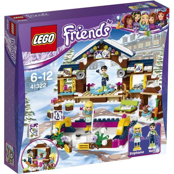 LEGO® Friends 41322 - Eislaufplatz im Wintersportort