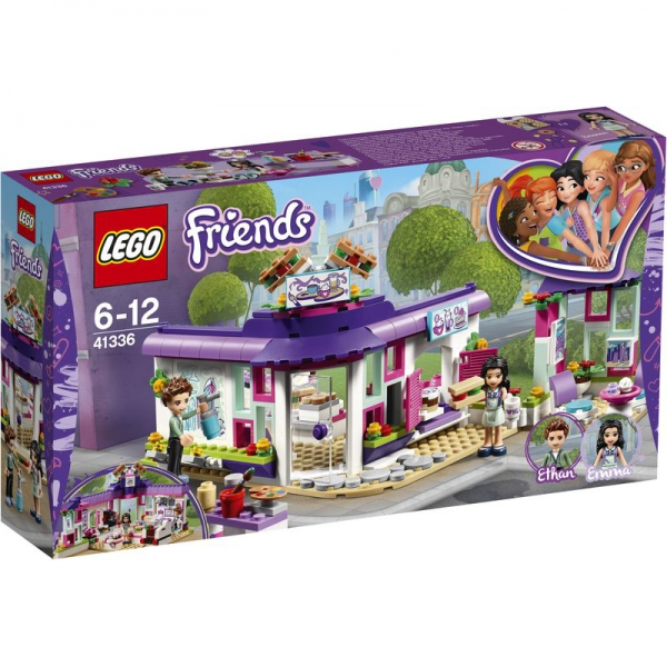 LEGO Friends 41336 - Emmas Künstlercafé