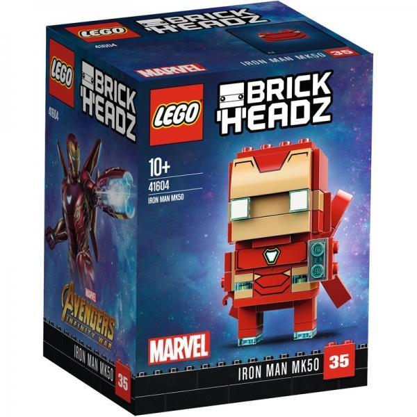 LEGO Brickheadz 41604 - Iron Man MK50