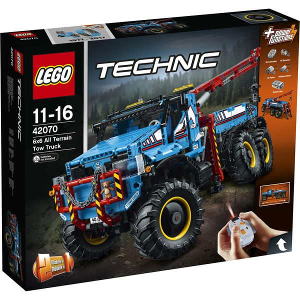 LEGO Technic 42070 - Allrad-Abschleppwagen