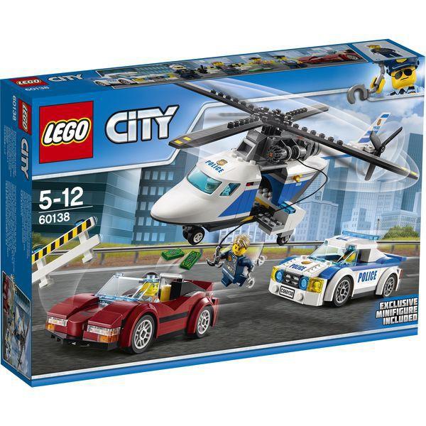 LEGO City 60138 - Rasante Verfolgungsjagd