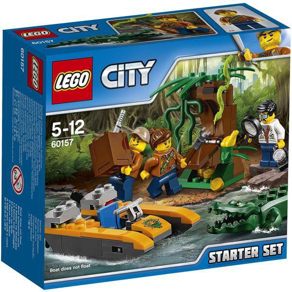 LEGO City 60157 - Dschungel-Starter-Set