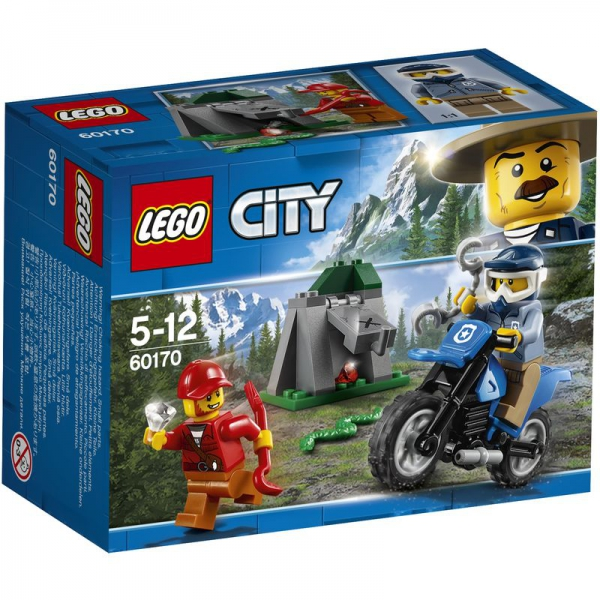 LEGO City 60170 - Offroad-Verfolgungsjagd