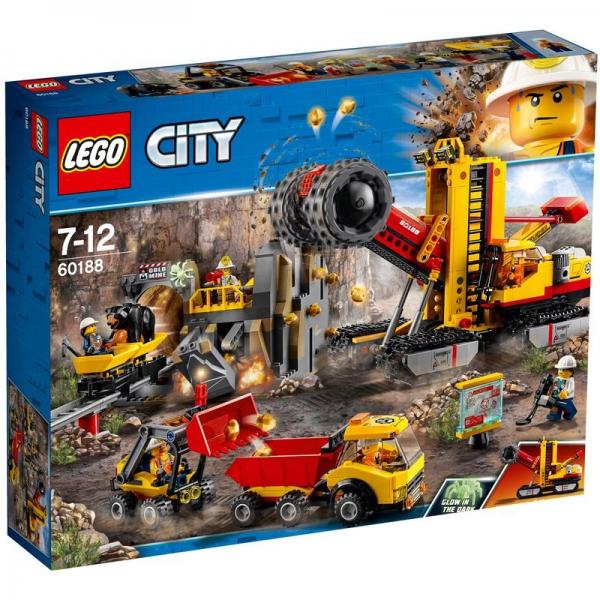 LEGO City 60188 - Bergbauprofis an der Abbaustätte