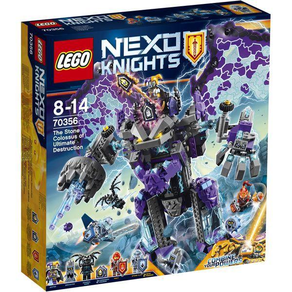 LEGO Nexo Knights 70356 - Der stürmische Steinkoloss