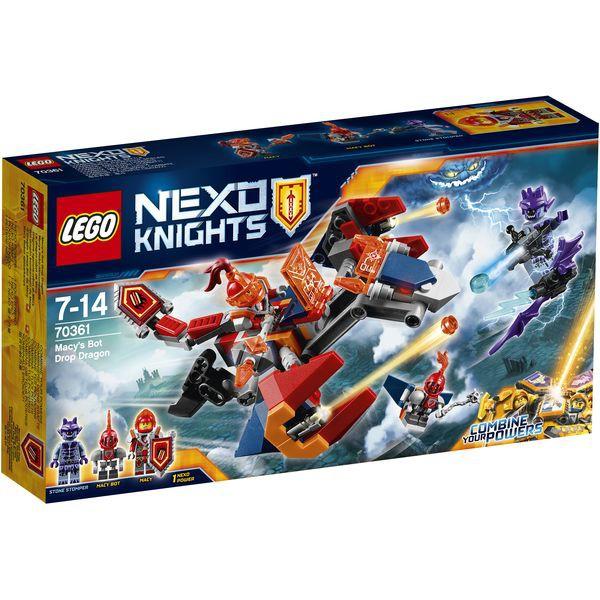 LEGO Nexo Knights 70361 - Macys Robo-Abwurfdrache