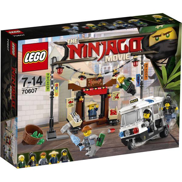 LEGO Ninjago 70607 - Verfolgungsjagd in NINJAGO® City