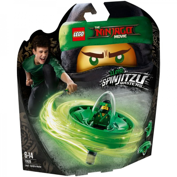 LEGO NINJAGO 70628 - Spinjitzu-Meister Lloyd