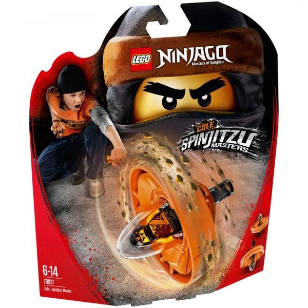 LEGO NINJAGO 70637 - Spinjitzu-Meister Cole