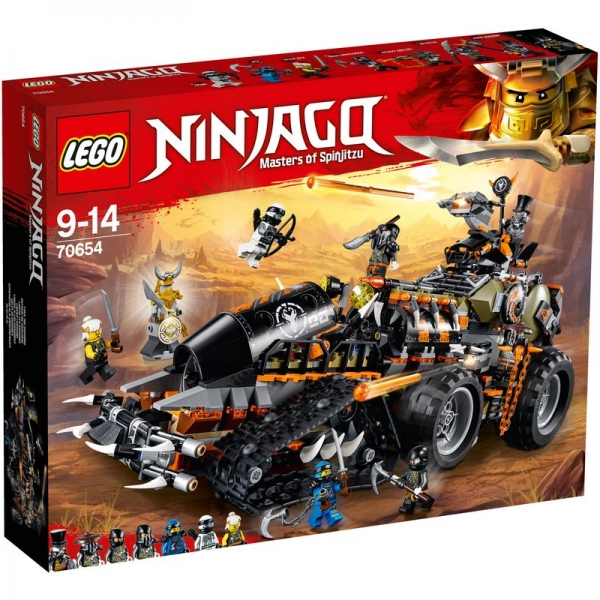 LEGO Ninjago 70654 - Drachen-Fänger