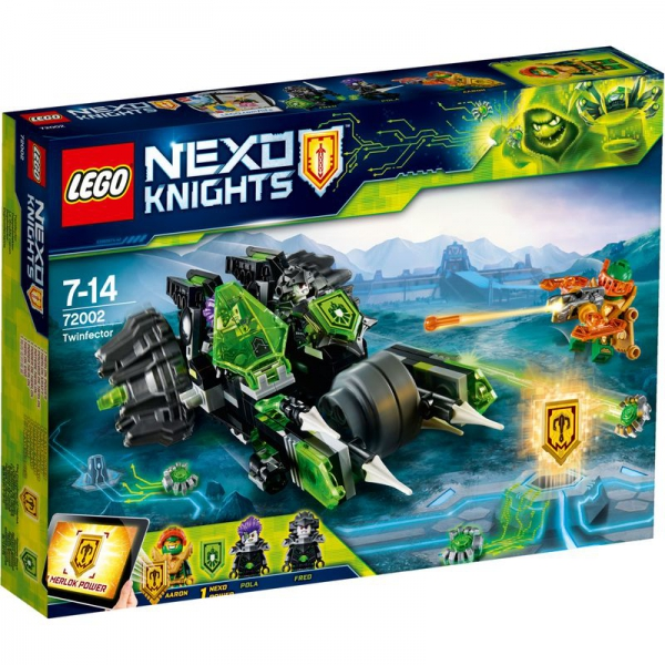 LEGO Nexo Knights 72002 - Doppelinfektor