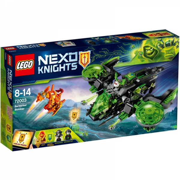 LEGO Nexo Knights 72003 - Berserker-Flieger
