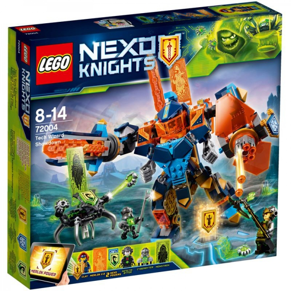 LEGO Nexo Knights 72004 - Clays Tech-Mech