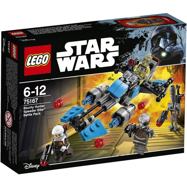 LEGO Star Wars 75167 - Bounty Hunter Speeder Bike? Battle Pack