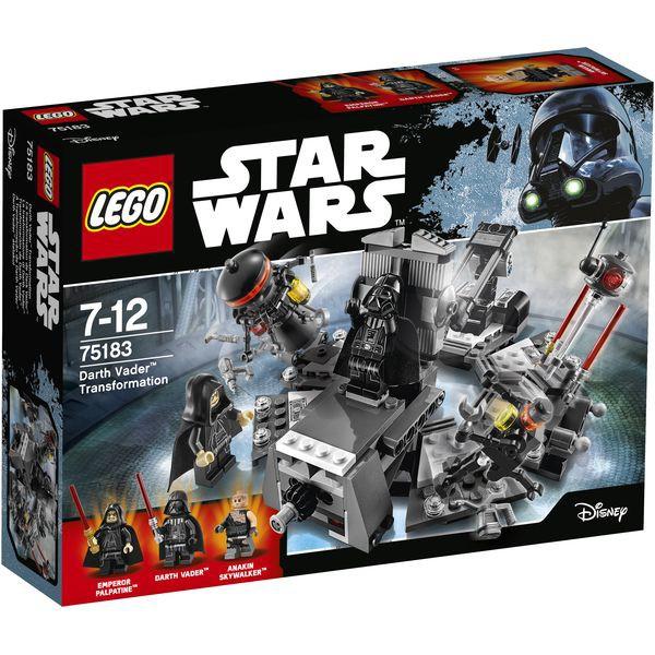 LEGO Star Wars 75183 - Darth Vader? Transformation