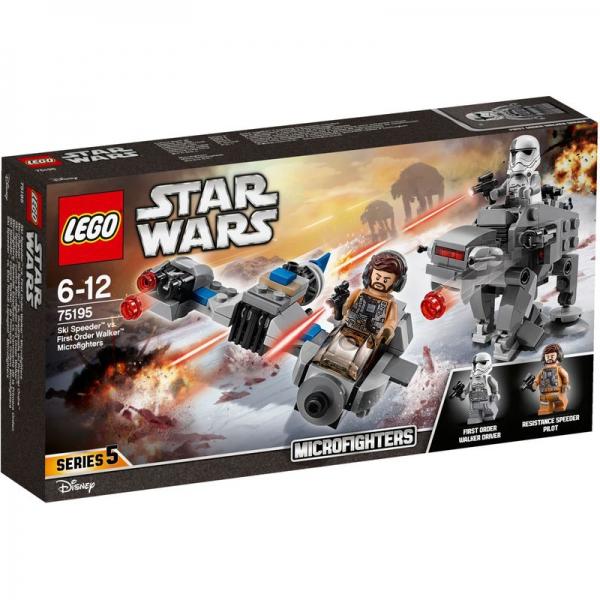 LEGO Star Wars 75195 - Ski Speeder™ vs. First Order Walker™ Microfighters