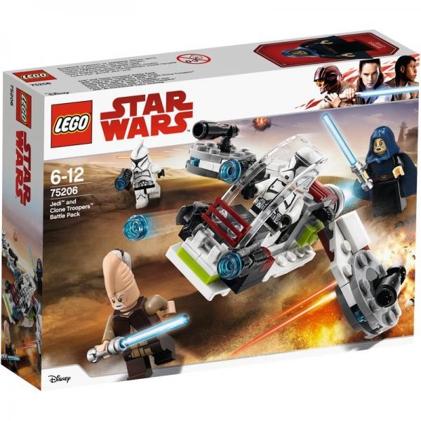 LEGO Star Wars 75206 - Jedi und Clone Troopers Battle Pack