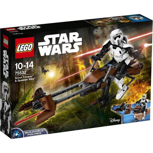 LEGO Star Wars 75532 - Scout Trooper? & Speeder Bike?