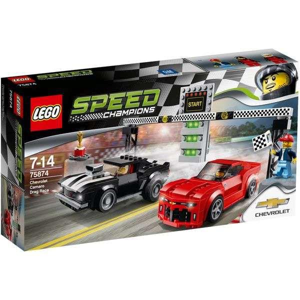 LEGO Speed Champions 75874 - Chevrolet Camaro Drag Race