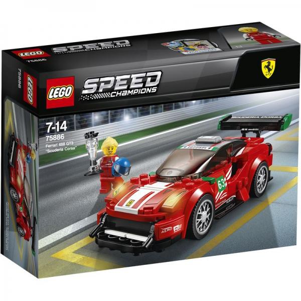 """LEGO Speed Champions 75886 - Ferrari 488 GT3 """"Scuderia Corsa"""""""