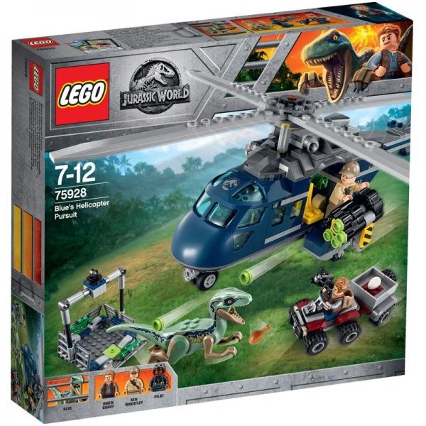 LEGO Jurassic World 75928 - Blue's Hubschrauber-Verfolgungsjagd