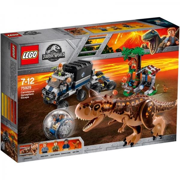 LEGO Jurassic World 75929 - Carnotaurus - Flucht in der Gyrosphere