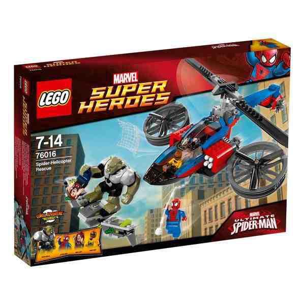 LEGO Super Heroes 76016 - Rettung mit dem Spider-Helikopter