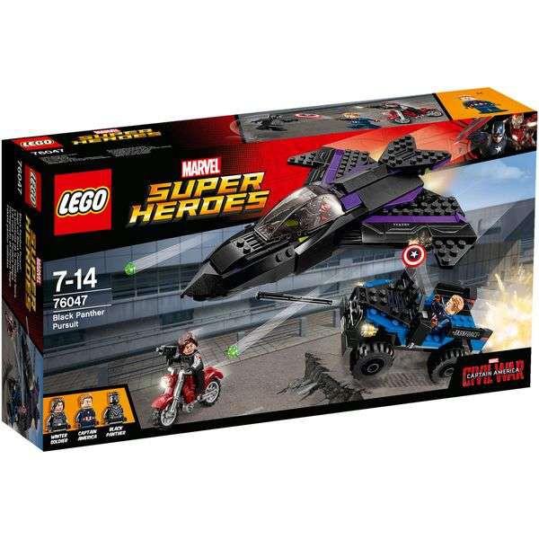 LEGO Marvel Super Heroes 76047 - Jagd auf Black Panther