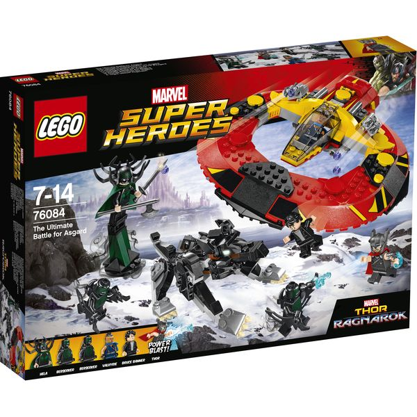 LEGO Marvel Super Heroes 76084 - Das ultimative Kräftemessen um Asgard