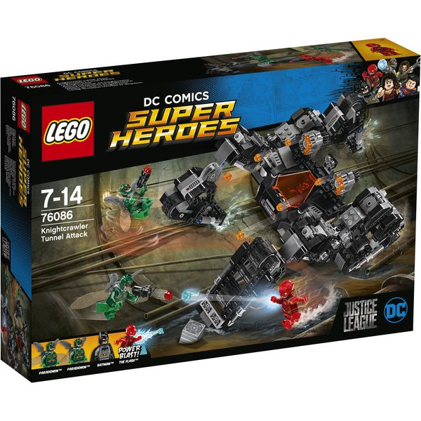 LEGO DC Universe Super Heroes 76086 - Knightcrawlers Tunnel-Attacke