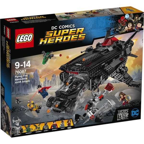 LEGO DC Universe Super Heroes 76087 - Flying Fox: Batmobil-Attacke aus der Luft