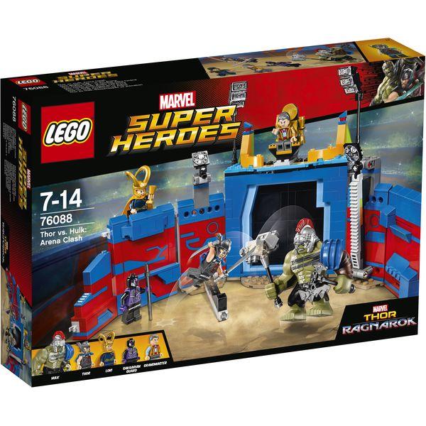 LEGO Marvel Super Heroes 76088 - Thor gegen Hulk ? in der Arena
