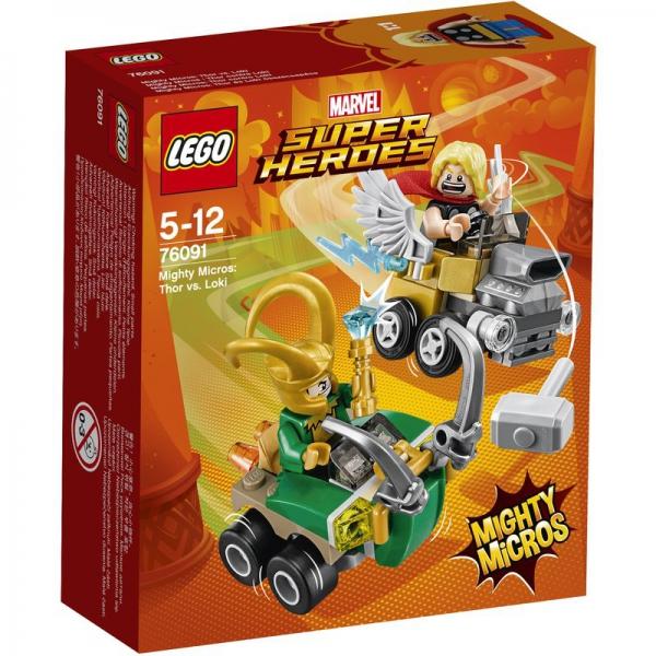 LEGO Marvel Super Heroes 76091 - Mighty Micros: Thor vs. Loki