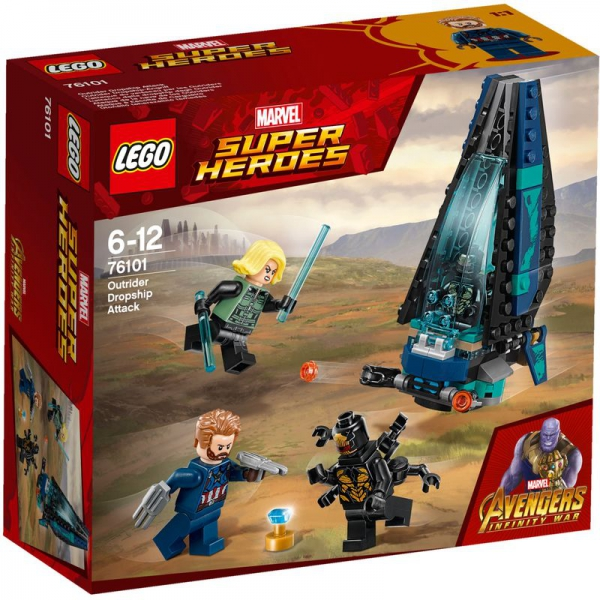 LEGO Marvel Super Heroes 76101 - Outrider Dropship-Attacke