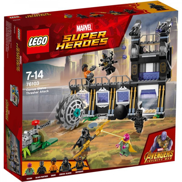 LEGO Marvel Super Heroes 76103 - Corvus Glaives Attacke
