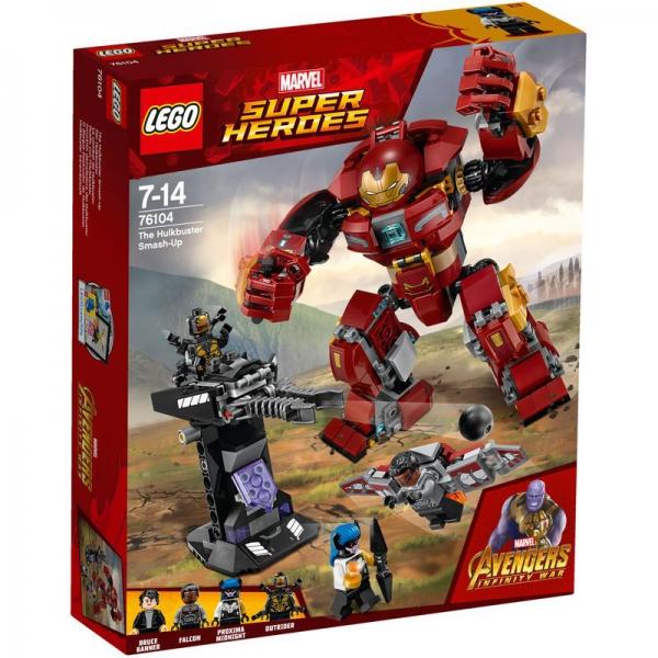 LEGO Marvel Super Heroes 76104 - Der Hulkbuster