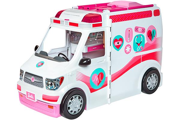 Mattel Barbie FRM 190 Barbie 2in1 Krankenwagen