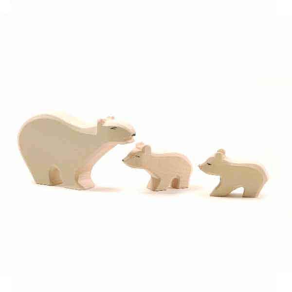 Ostheimer Eisbärengruppe 3-tlg.