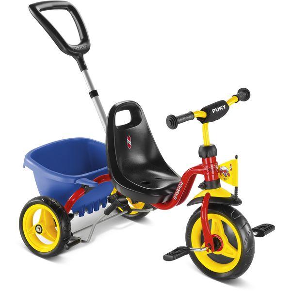 Puky 2223 CAT 1 S Dreirad Kipper, Farbe: rot