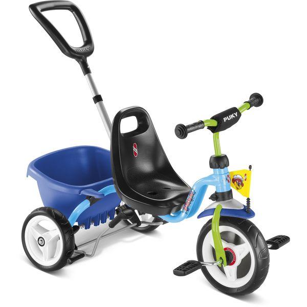 Puky 2226 CAT 1 S Dreirad Kipper, Farbe: blau
