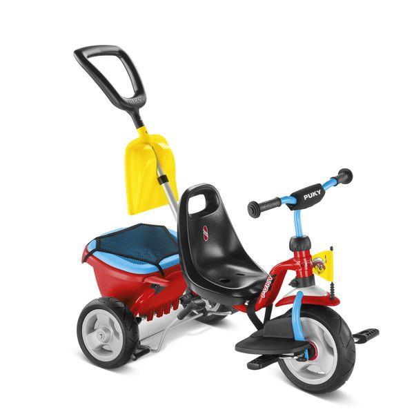 Puky 2459 CAT 1 SP Dreirad Kipper, Farbe: rot/blau