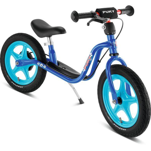 Puky 4029 LR 1Br Laufrad Standard mit Luftbereifung und Bremse, Farbe: blau (Fußball)
