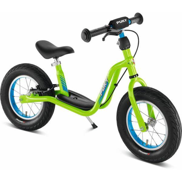 Puky 4069 LR XL Laufrad XL mit Luftbereifung und Speichenrädern, Farbe: kiwi