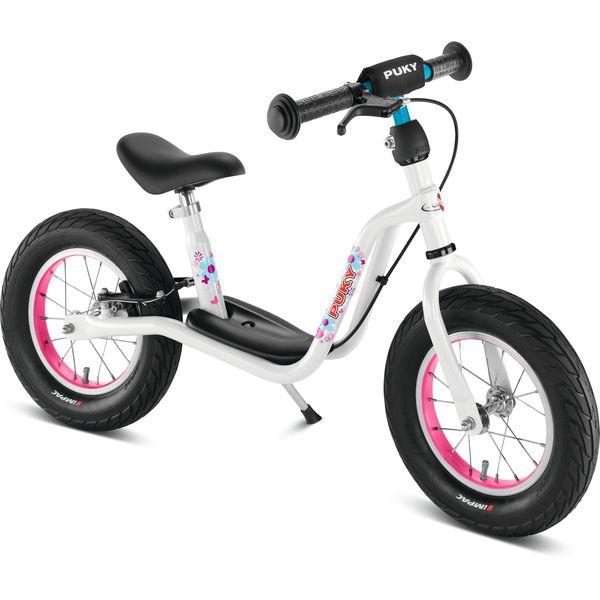 Puky 4070 LR XL Laufrad XL mit Luftbereifung und Speichenrädern, Farbe: weiß