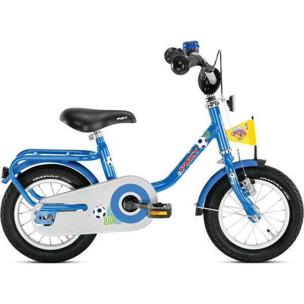 Puky 4119 Kinderfahrrad Z2, Farbe: blau (Fußball)