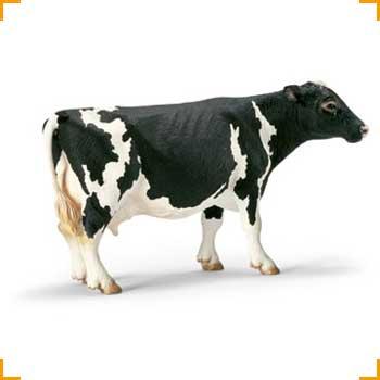 Schleich Kuh Schwarzbunt