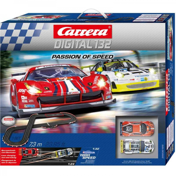 Carrera Digital 132 - Passion of Speed - Autorennbahn