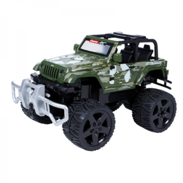 Carrera RC Jeep Wrangler Rubicon, green